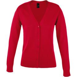 Vêtements Femme Gilets / Cardigans Sols GOLDEN ELEGANT WOMEN Rojo