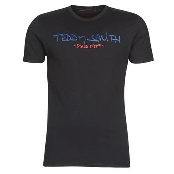 Vêtements Homme T-shirts manches courtes Teddy Smith TICLASS Noir