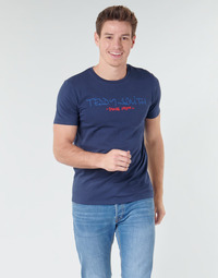 Vêtements Homme T-shirts manches courtes Teddy Smith TICLASS Marine