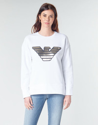 Vêtements Femme Sweats Emporio Armani DJIMMY Blanc