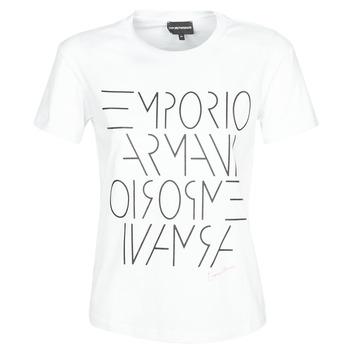 Vêtements Femme T-shirts manches courtes Emporio Armani DONOVANN Blanc