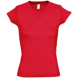 Vêtements Femme T-shirts manches courtes Sols MOON COLORS GIRL Rojo