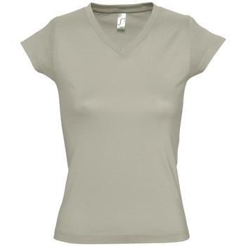 Vêtements Femme T-shirts manches courtes Sols MOON COLORS GIRL Beige