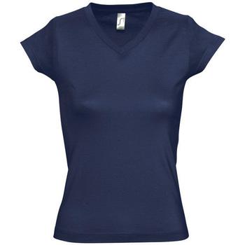 Vêtements Femme T-shirts manches courtes Sols MOON COLORS GIRL Azul