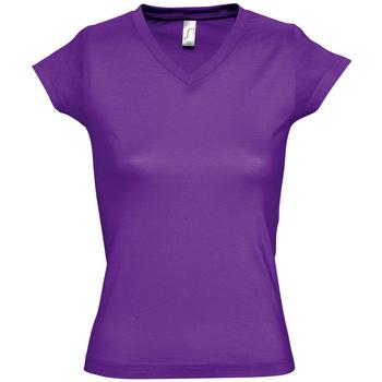 Vêtements Femme T-shirts manches courtes Sols MOON COLORS GIRL Violeta