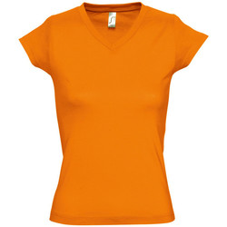 Vêtements Femme T-shirts manches courtes Sols MOON COLORS GIRL Naranja