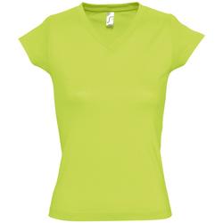 Vêtements Femme T-shirts manches courtes Sols MOON COLORS GIRL Verde