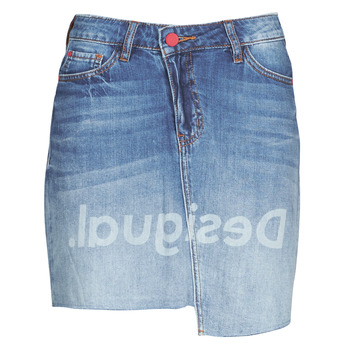 Vêtements Femme Jupes Desigual LOG Bleu