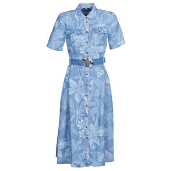 Vêtements Femme Robes longues Desigual KATE Bleu