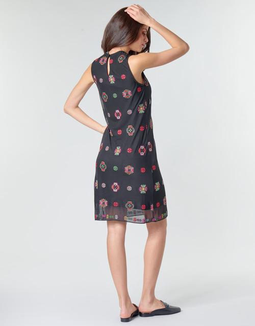 TRESOR  Desigual  robes courtes  femme  multicolore