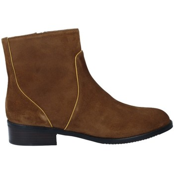 Chaussures Femme Bottines Plumers 5832 Botines Chelsea Casual de Mujer Marron