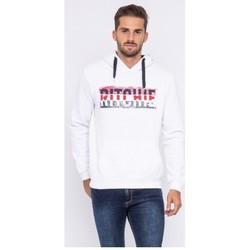 Vêtements Homme Sweats Ritchie Sweat capuche WESKOF Blanc