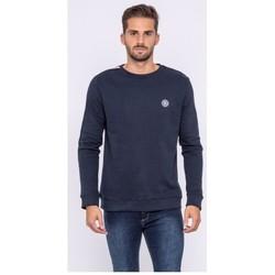 Vêtements Homme Sweats Ritchie Sweat col rond pur coton WIMOLO Bleu marine