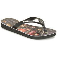 Chaussures Garçon Tongs Havaianas KIDS MARVEL Black / Multicolor