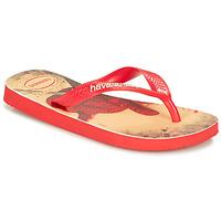 Chaussures Garçon Tongs Havaianas KIDS MARVEL Red / Black