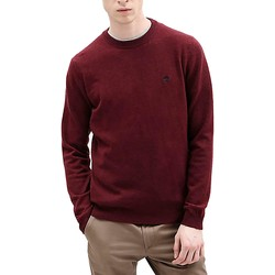 Vêtements Homme Pulls Timberland MAGLIONCINO GIROCOLLO BORDEAUX Rouge