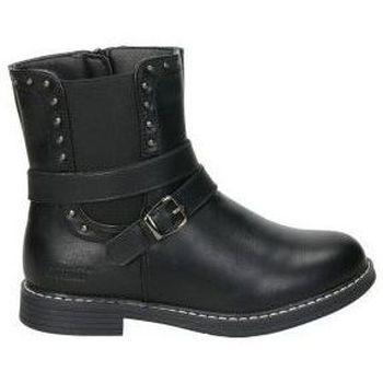 Chaussures Fille Boots Crecendo 1611 Noir