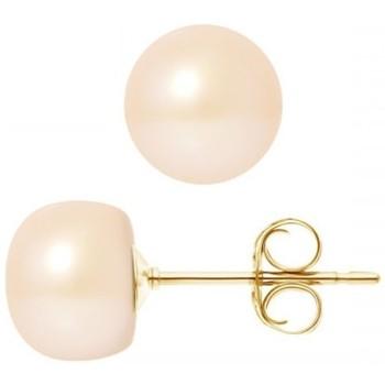 Montres & Bijoux Femme Boucles d'oreilles Blue Pearls BPS K616 W Multicolore