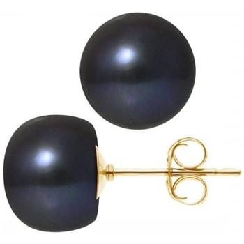 Montres & Bijoux Femme Boucles d'oreilles Blue Pearls BPS K618 W Multicolore