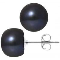 Montres & Bijoux Femme Boucles d'oreilles Blue Pearls BPS K618 W - OB Multicolore