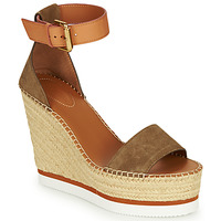Chaussures Femme Espadrilles See by Chloé SB26152 Kaki