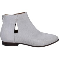 Chaussures Femme Low boots Moma bottines cuir blanc