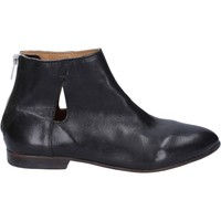 Chaussures Femme Low boots Moma bottines cuir noir