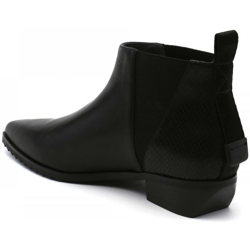 Bottines United nude low boots femme
