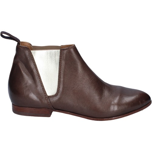 Chaussures Femme Low boots Moma bottines cuir marron