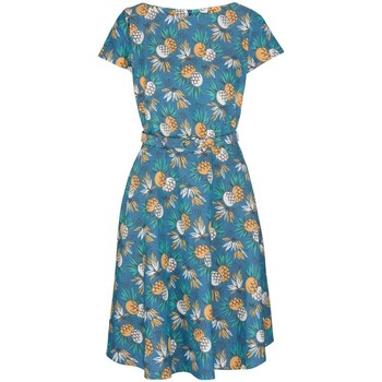 Vêtements Femme Robes courtes King Louie Betty Lanai Ocean Bleu Bleu
