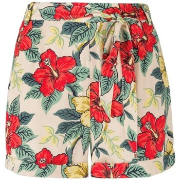 Vêtements Femme Shorts / Bermudas King Louie Short Lambada Putty Ecru Beige