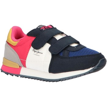 Chaussures Fille Baskets basses Pepe jeans PGS30420 SYDNEY Azul