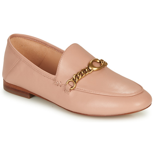 Chaussures Femme Mocassins Coach HELENA LOAFER Rose Nude