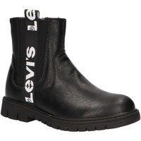 Chaussures Fille Bottines Levi's VPHI0003S NASHVILLE Negro