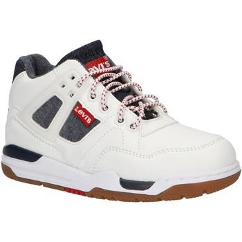 Chaussures Garçon Baskets montantes Levi's VGOL0001S GOLDEN Blanco