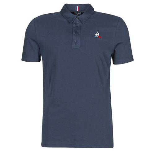 Vêtements Homme Polos manches courtes Le Coq Sportif ESS POLO SS N°2 M Bleu