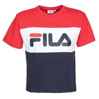 Vêtements Femme T-shirts manches courtes Fila ALLISON Marine / Rouge / Blanc