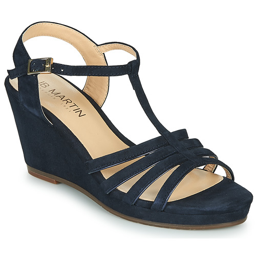 Chaussures Femme Sandales et Nu-pieds JB Martin QUIRA Marine
