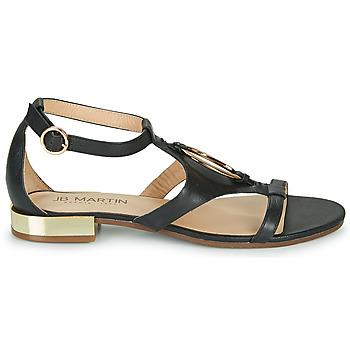 Chaussures Femme Sandales et Nu-pieds JB Martin BOCCIA Noir