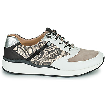 Chaussures Femme Baskets basses JB Martin 1KALIO Blanc / Beige / Noir