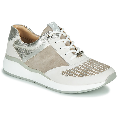 Chaussures Femme Baskets basses JB Martin 1KALIO Beige / Blanc / Argenté