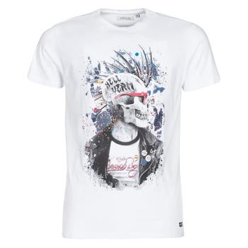 Vêtements Homme T-shirts manches courtes Deeluxe ENFIELDON Blanc