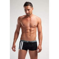Vêtements Homme Maillots / Shorts de bain Geronimo Boxer de bain bandes latérales Noir