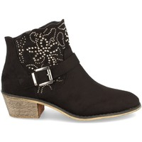 Chaussures Femme Bottines Flyfor J103 Negro