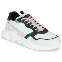 Chaussures Homme Baskets basses Serafini OREGON Blanc / Noir