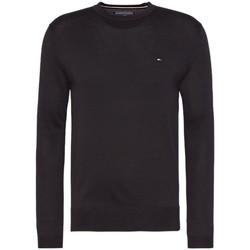 Vêtements Homme Pulls Tommy Hilfiger Pull Classique Col Rond Noir