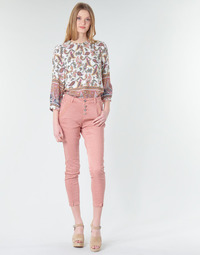Vêtements Femme Jeans droit Cream CALINA Rose