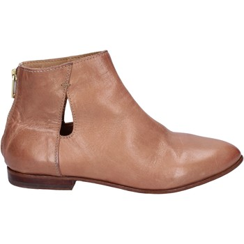 Chaussures Femme Low boots Moma bottines cuir beige