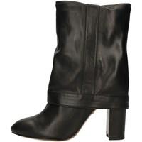 Chaussures Femme Bottes ville Pura Lopez AN184 NOIR