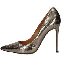 Chaussures Femme Escarpins Pura Lopez AK107 ARGENT